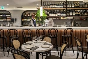 Organica Cafe Concord bar area